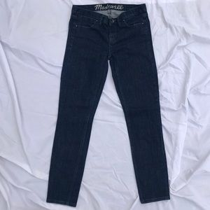 Madewell skinny blue jeans 24X32